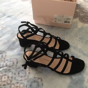 NEVER WORN! Chinese Laundry Black Sued Heels